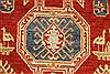 Kazak Orange Hand Knotted 36 X 67  Area Rug 250-28656 Thumb 9