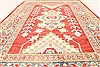 Kazak Red Hand Knotted 37 X 56  Area Rug 250-28664 Thumb 4