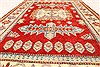 Kazak Red Hand Knotted 40 X 60  Area Rug 250-28665 Thumb 4