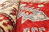 Kazak Red Hand Knotted 40 X 60  Area Rug 250-28665 Thumb 7