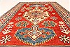 Kazak Red Hand Knotted 40 X 60  Area Rug 250-28668 Thumb 4