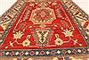 Kazak Orange Hand Knotted 42 X 61  Area Rug 250-28679 Thumb 10