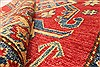 Kazak Red Hand Knotted 37 X 59  Area Rug 250-28697 Thumb 8