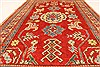 Kazak Red Hand Knotted 38 X 59  Area Rug 250-28698 Thumb 5