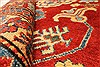 Kazak Red Hand Knotted 38 X 59  Area Rug 250-28698 Thumb 8