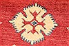Kazak Red Hand Knotted 41 X 54  Area Rug 250-28701 Thumb 10