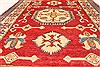 Kazak Red Hand Knotted 41 X 54  Area Rug 250-28701 Thumb 4