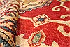 Kazak Red Hand Knotted 41 X 54  Area Rug 250-28701 Thumb 7
