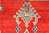 Kazak Red Hand Knotted 40 X 61  Area Rug 250-28703 Thumb 11