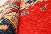 Kazak Red Hand Knotted 40 X 61  Area Rug 250-28703 Thumb 7