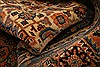 Tabriz Brown Hand Knotted 82 X 105  Area Rug 100-28705 Thumb 1