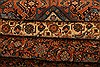 Tabriz Brown Hand Knotted 82 X 105  Area Rug 100-28705 Thumb 4