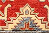 Kazak Red Runner Hand Knotted 211 X 195  Area Rug 250-28708 Thumb 11