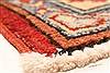 Kazak Red Runner Hand Knotted 211 X 195  Area Rug 250-28708 Thumb 12