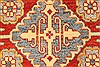 Kazak Red Runner Hand Knotted 211 X 195  Area Rug 250-28708 Thumb 2