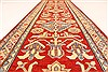 Kazak Red Runner Hand Knotted 211 X 195  Area Rug 250-28708 Thumb 5