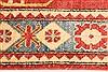 Kazak Yellow Runner Hand Knotted 211 X 1711  Area Rug 250-28709 Thumb 4