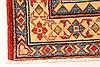Kazak Red Runner Hand Knotted 211 X 193  Area Rug 250-28714 Thumb 1