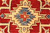Kazak Red Runner Hand Knotted 211 X 193  Area Rug 250-28714 Thumb 3