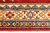 Kazak Red Runner Hand Knotted 211 X 193  Area Rug 250-28714 Thumb 4