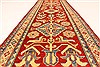 Kazak Red Runner Hand Knotted 211 X 193  Area Rug 250-28714 Thumb 5
