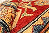 Kazak Red Runner Hand Knotted 211 X 193  Area Rug 250-28714 Thumb 8