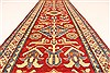 Kazak Red Runner Hand Knotted 29 X 189  Area Rug 250-28719 Thumb 4