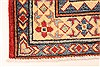 Kazak Red Runner Hand Knotted 211 X 189  Area Rug 250-28721 Thumb 1