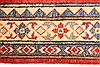 Kazak Red Runner Hand Knotted 211 X 189  Area Rug 250-28721 Thumb 4