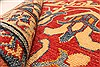 Kazak Red Runner Hand Knotted 211 X 189  Area Rug 250-28721 Thumb 8