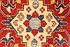 Kazak Red Runner Hand Knotted 28 X 184  Area Rug 250-28738 Thumb 2