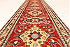 Kazak Red Runner Hand Knotted 28 X 184  Area Rug 250-28738 Thumb 6
