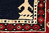 Khan Mohammadi Blue Hand Knotted 311 X 61  Area Rug 250-28741 Thumb 12