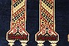 Khan Mohammadi Blue Hand Knotted 311 X 61  Area Rug 250-28741 Thumb 2