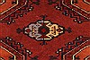 Turkman Brown Hand Knotted 40 X 57  Area Rug 250-28782 Thumb 2