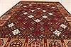 Turkman Green Hand Knotted 39 X 56  Area Rug 250-28785 Thumb 4