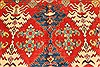 Kazak Red Hand Knotted 1110 X 146  Area Rug 250-28793 Thumb 2