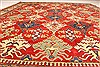 Kazak Red Hand Knotted 1110 X 146  Area Rug 250-28793 Thumb 4