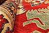Kazak Red Hand Knotted 1110 X 146  Area Rug 250-28793 Thumb 7
