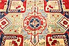 Heriz Red Hand Knotted 116 X 148  Area Rug 250-28796 Thumb 1