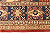 Heriz Red Hand Knotted 116 X 148  Area Rug 250-28796 Thumb 2
