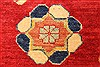 Heriz Red Hand Knotted 116 X 148  Area Rug 250-28796 Thumb 9