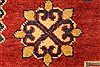 Kazak Red Hand Knotted 117 X 159  Area Rug 250-28800 Thumb 11
