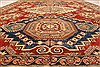 Kazak Red Hand Knotted 117 X 159  Area Rug 250-28800 Thumb 4