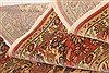 Tabriz Red Hand Knotted 90 X 118  Area Rug 100-28803 Thumb 3