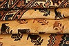 Baluch Yellow Hand Knotted 83 X 111  Area Rug 100-28805 Thumb 4