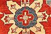 Kazak Yellow Hand Knotted 130 X 163  Area Rug 250-28806 Thumb 10