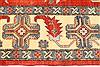 Kazak Yellow Hand Knotted 130 X 163  Area Rug 250-28806 Thumb 3