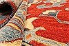Kazak Yellow Hand Knotted 130 X 163  Area Rug 250-28806 Thumb 7