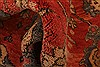 Oushak Red Hand Knotted 93 X 120  Area Rug 100-28816 Thumb 2